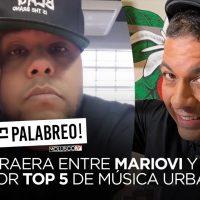 Polémica en EL PALABREO entre MarioVI y Robert por top 5 de mejores canciones del genero urbano…