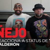 Le preguntamos a ÑEJO que piensa del status actual de la carrera de Tego Calderón…