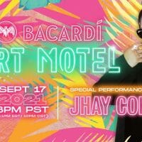 Jhay Cortez at the BACARDí Art Motel @LifeIsBeautiful